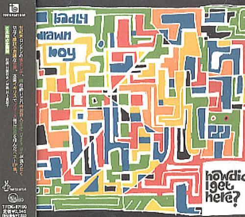 Badly Drawn Boy How Did I Get Here? CD album (CDLP) Japanese BDWCDHO285371