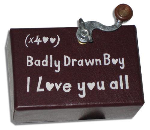 Badly Drawn Boy I Love You All Promo Music Box memorabilia UK BDWMMIL280762