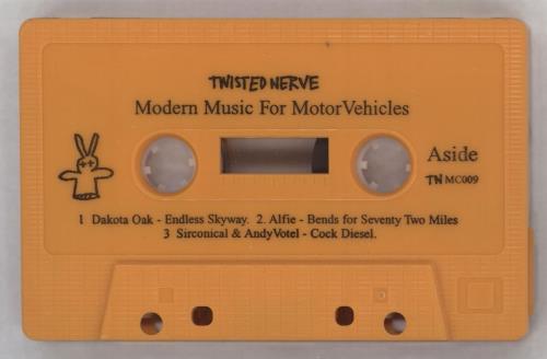 Badly Drawn Boy Modern Music For Motor Vehicles cassette single UK BDWCMMO237987