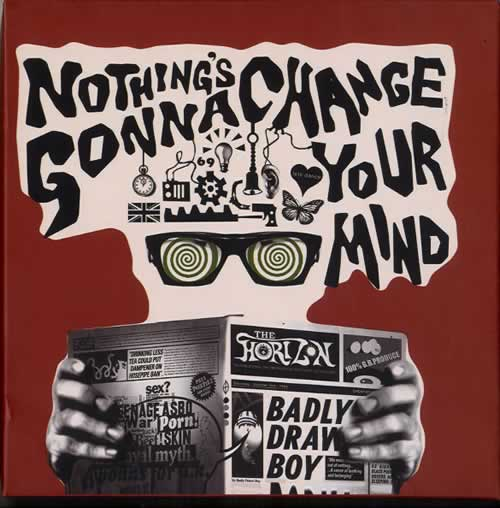 Badly Drawn Boy Nothing's Gonna Change Your Mind box set UK BDWBXNO608380