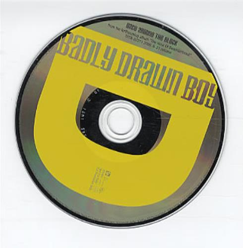 "Badly Drawn Boy Once Around The Block CD single (CD5 / 5"") Japanese BDWC5ON229455"