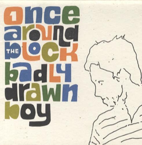 "Badly Drawn Boy Once Around The Block CD single (CD5 / 5"") UK BDWC5ON337454"