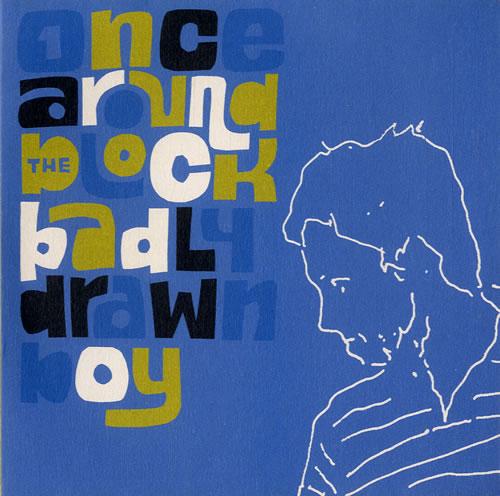 "Badly Drawn Boy Once Around The Block CD single (CD5 / 5"") UK BDWC5ON545578"