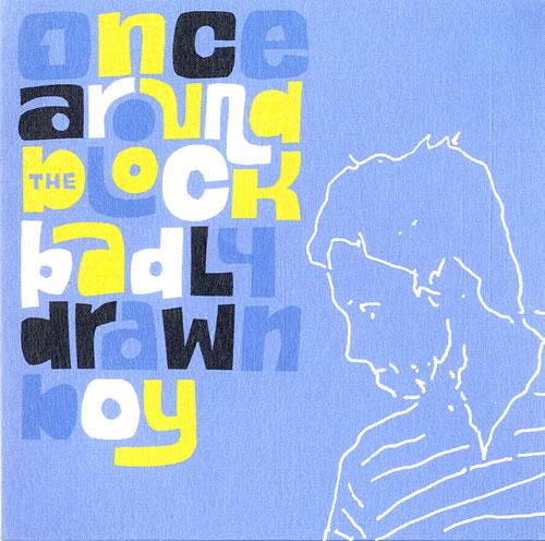 "Badly Drawn Boy Once Around The Block CD single (CD5 / 5"") UK BDWC5ON554727"