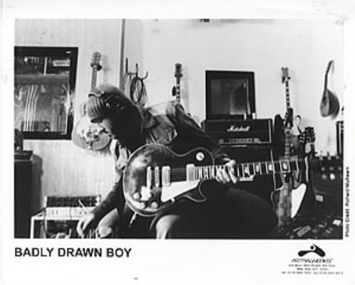 Badly Drawn Boy One Plus One Is One media press pack US BDWPPON305709