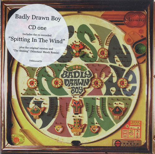 Badly Drawn Boy Pissin' In The Wind 2-CD single set (Double CD single) UK BDW2SPI184737