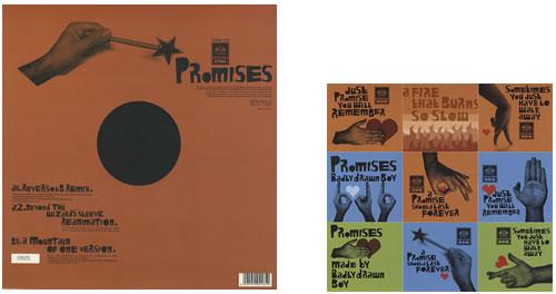 "Badly Drawn Boy Promises 12"" vinyl single (12 inch record / Maxi-single) UK BDW12PR405704"
