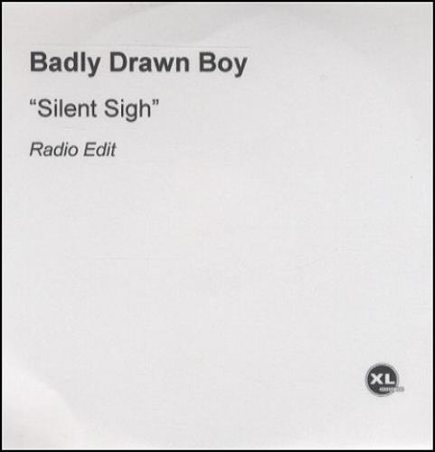 Badly Drawn Boy Silent Sigh CD-R acetate UK BDWCRSI209565