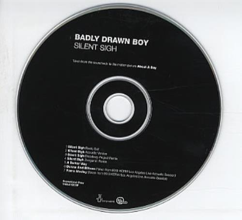 "Badly Drawn Boy Silent Sigh CD single (CD5 / 5"") UK BDWC5SI209573"