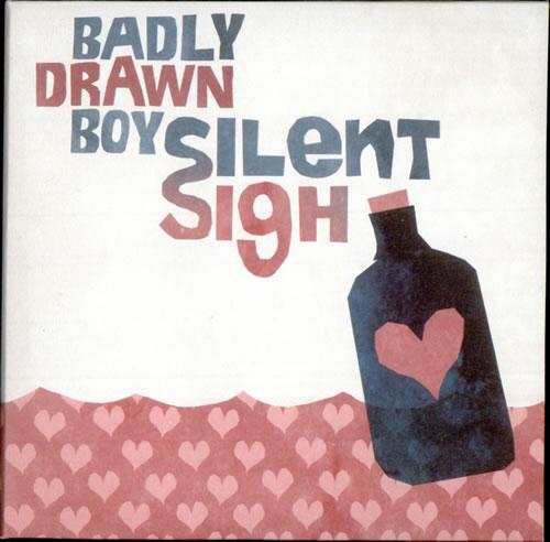 "Badly Drawn Boy Silent Sigh CD single (CD5 / 5"") UK BDWC5SI500867"