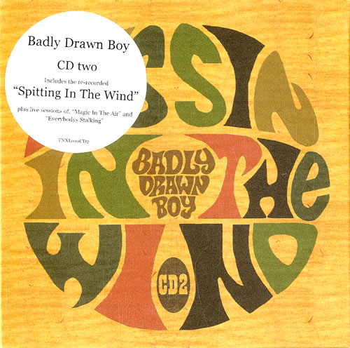 "Badly Drawn Boy Spitting In The Wind - Disc Two CD single (CD5 / 5"") UK BDWC5SP554730"
