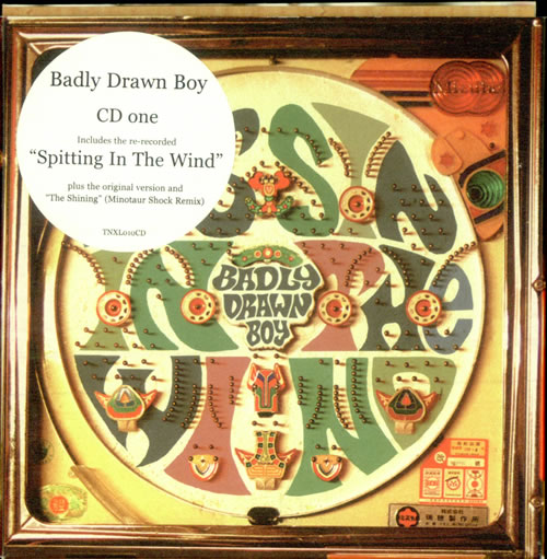 "Badly Drawn Boy Spitting In The Wind CD single (CD5 / 5"") UK BDWC5SP193188"