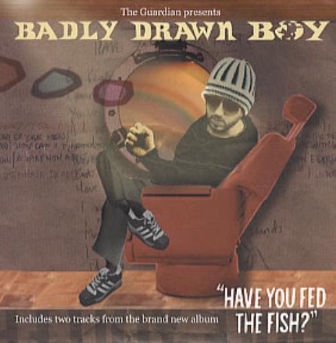 """Badly Drawn Boy The Guardian Presents Badly Drawn Boy CD single (CD5 / 5"""") UK BDWC5TH229365"""