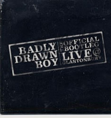 Badly Drawn Boy The Official Bootleg - Live @ Glastonbury CD album (CDLP) US BDWCDTH238861