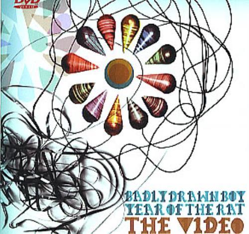 Badly Drawn Boy Year Of The Rat CD/DVD single set UK BDWSDYE293938