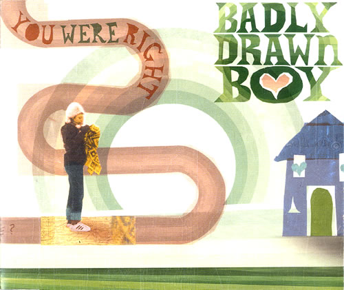 "Badly Drawn Boy You Were Right CD single (CD5 / 5"") UK BDWC5YO554757"