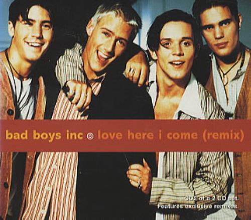 Bad Boys Inc Love Here I Come 2-CD single set (Double CD single) UK BBI2SLO123817