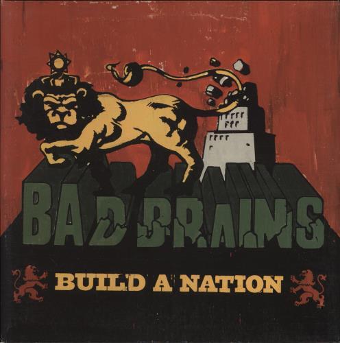 Bad Brains Build A Nation UK Vinyl LP Album LP Record - Vinylboden nassraum