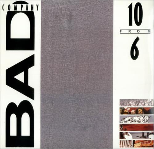 Bad Company 10 From 6 - Sealed vinyl LP album (LP record) US BCOLPFR427521