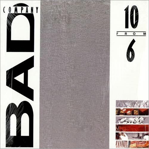 Bad Company 10 From 6 vinyl LP album (LP record) US BCOLPFR464796