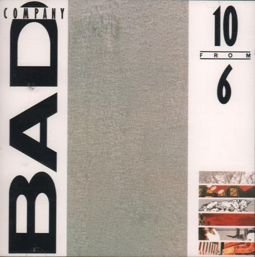 Bad Company 10 From 6 CD album (CDLP) German BCOCDFR650190