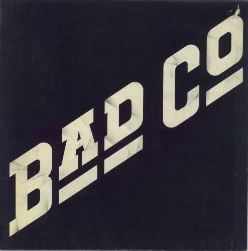 Bad Company Bad Company - 1st - EX vinyl LP album (LP record) UK BCOLPBA723564