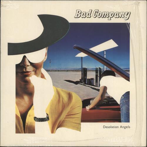 Bad Company Desolation Angels - shrink vinyl LP album (LP record) UK BCOLPDE725357