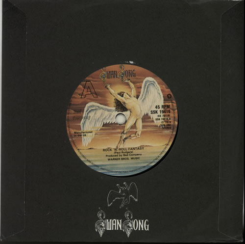 "Bad Company Rock 'n' Roll Fantasy 7"" vinyl single (7 inch record) UK BCO07RO630693"