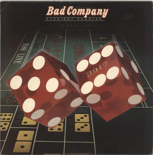 Bad Company Straight Shooter - EX vinyl LP album (LP record) UK BCOLPST525669