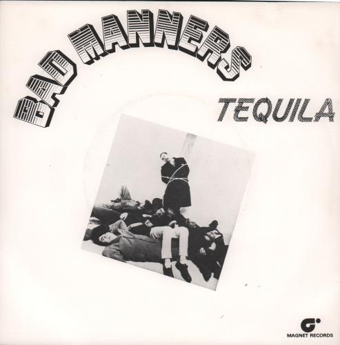 """Bad Manners Tequila 7"""" vinyl single (7 inch record) Dutch BMA07TE662119"""