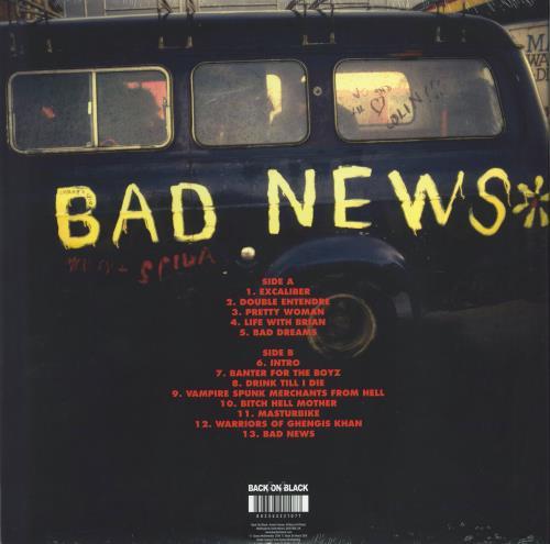 Bad News Almost Rare - Sealed vinyl LP album (LP record) UK BDNLPAL773813