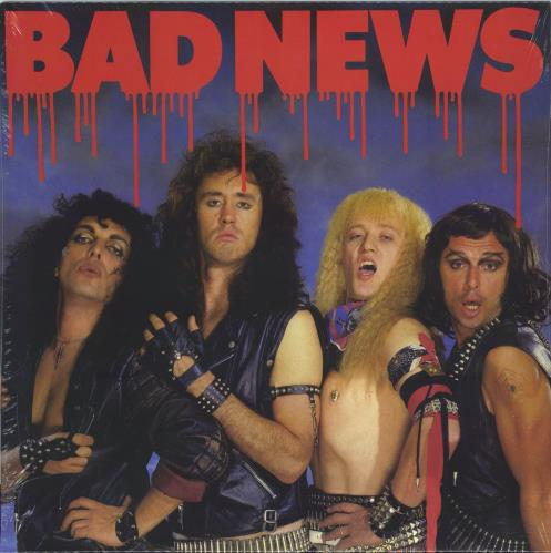 Bad News Bad News - Red - Sealed vinyl LP album (LP record) UK BDNLPBA773812