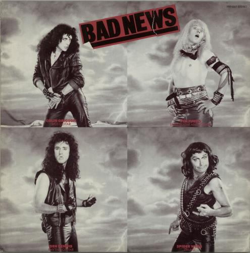 "Bad News Bad News 12"" vinyl single (12 inch record / Maxi-single) Japanese BDN12BA157785"