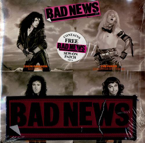 "Bad News Bohemian Rhapsody + Patch - Sealed 7"" vinyl single (7 inch record) UK BDN07BO577175"