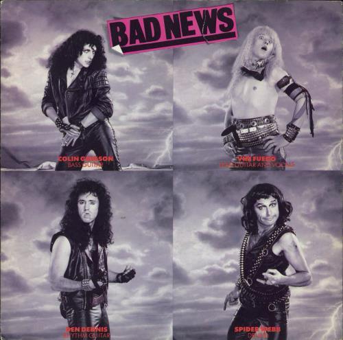 "Bad News Bohemian Rhapsody 7"" vinyl single (7 inch record) UK BDN07BO67299"