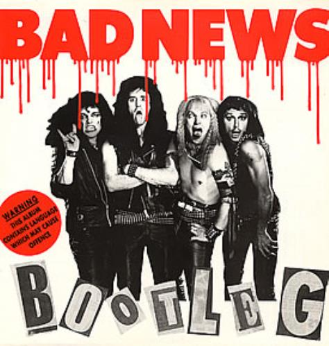 Bad News Bootleg vinyl LP album (LP record) UK BDNLPBO222612