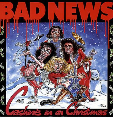 "Bad News Cashing In On Christmas 12"" vinyl single (12 inch record / Maxi-single) UK BDN12CA68375"