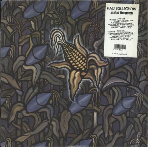 Bad Religion Against The Grain vinyl LP album (LP record) US BDRLPAG706420