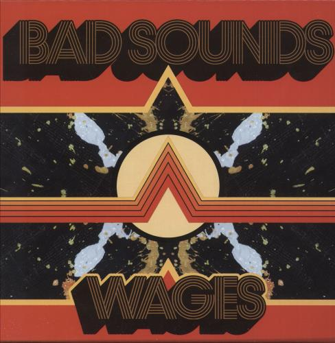 "Bad Sounds Wages - Yellow Vinyl 7"" vinyl single (7 inch record) UK ZBE07WA739346"