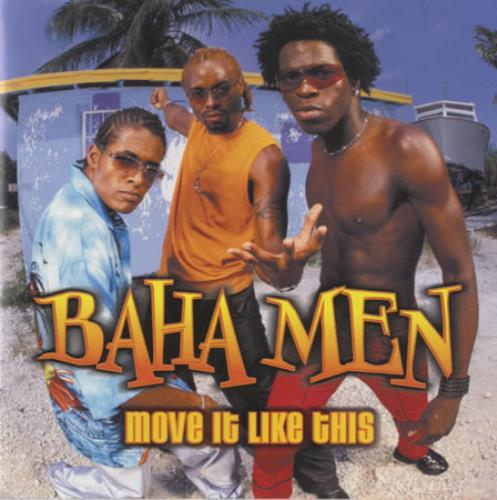 Baha Men Move It Like This CD album (CDLP) US B/MCDMO438026