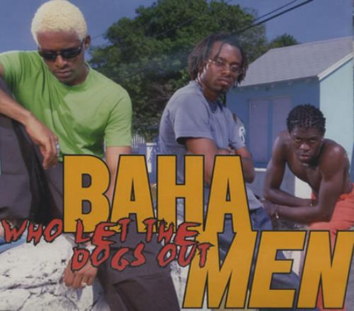 "Baha Men Who Let The Dogs Out CD single (CD5 / 5"") German B/MC5WH390534"