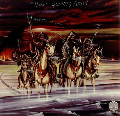 Baker Gurvitz Army Baker Gurvitz Army vinyl LP album (LP record) UK BGALPBA257601