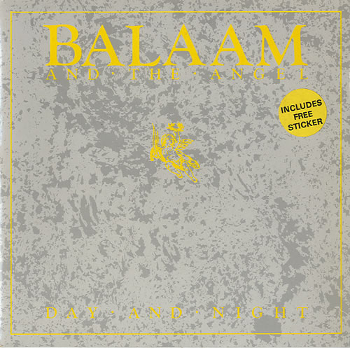 "Balaam And The Angel Day And Night 7"" vinyl single (7 inch record) UK BAA07DA620539"