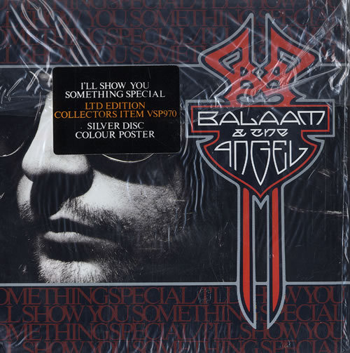 """Balaam And The Angel I'll Show You Something Special - Silver Vinyl - Sealed 7"""" vinyl single (7 inch record) UK BAA07IL507471"""