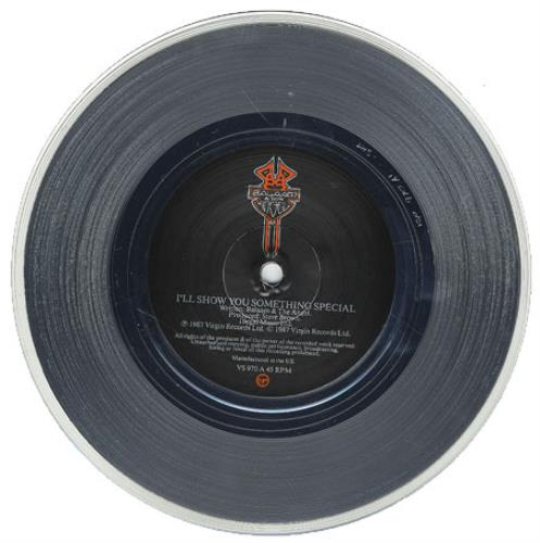 "Balaam And The Angel I'll Show You Something Special - Silver Vinyl 7"" vinyl single (7 inch record) UK BAA07IL362575"
