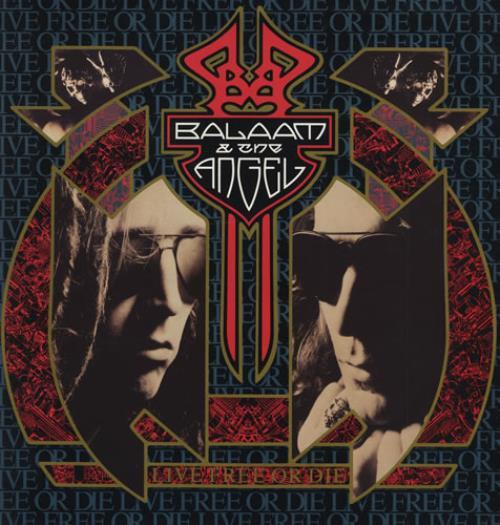 Balaam And The Angel Live Free Or Die vinyl LP album (LP record) UK BAALPLI428760