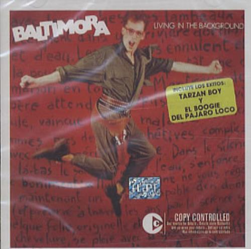 Baltimora Living In The Background CD album (CDLP) Mexican BTICDLI326611