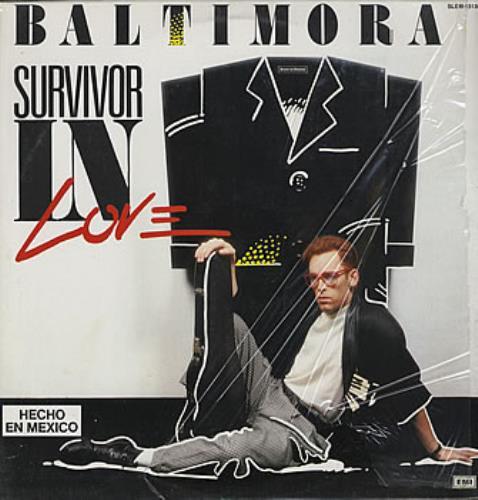 Baltimora Survivor In Love vinyl LP album (LP record) Mexican BTILPSU360032