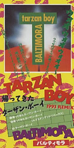 "Baltimora Tarzan Boy - 1993 Remix 3"" CD single (CD3) Japanese BTIC3TA308569"
