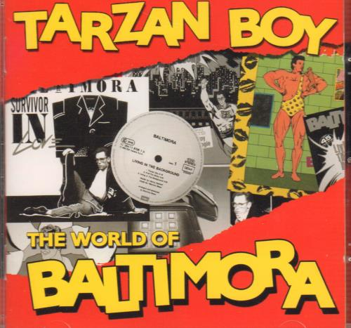 Baltimora Tarzan Boy - The World Of Baltimora CD album (CDLP) Italian BTICDTA645835